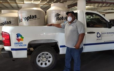 JCAS instala estaciones de lavado de manos para combatir el COVID-19 en todo el estado