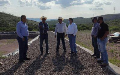 Supervisa JCAS construcción de Planta de Tratamiento de Aguas Residuales en Santa Isabel