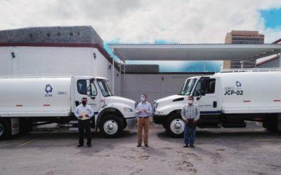 Dona JCAS pipas de agua en apoyo a más de 30 localidades rurales