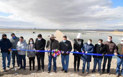 Con inversión de 16.5 mdp inaugura Gobernador planta tratadora de aguas en Gómez Farías